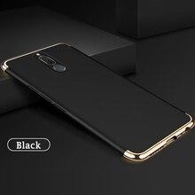 luxury hard plastic phone back etui,coque,cover,case for huawei mate 10 Lite nova 2i honor 9i black accessories 3 in 1 goowiiz черный maimang 6 mate 10 lite honor 9i nova 2i