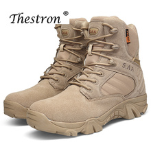 New Winter Autumn Men Military Boots Special Force Tactical Desert Combat Ankle Boots  Leather Snow Boots Men Army Work Shoes все цены