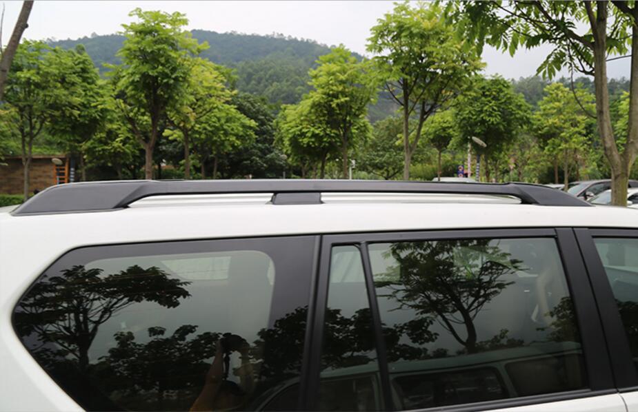 for Toyota prado FJ150 FJ 150 FJ120 FJ 120 Hot roof rail portapacchi bar 2010 2011 2012 2013 2014 2015 2016 2017 2018 2019