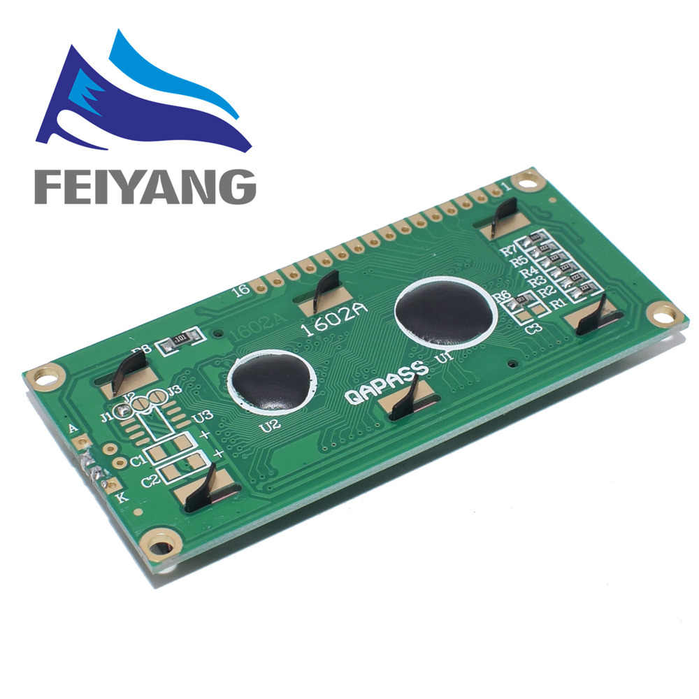 10 CHIẾC LCD1602 1602 Module LCD Xanh/Vàng Xanh Màn Hình 16x2 Nhân Vật MÀN HÌNH Hiển Thị LCD PCF8574T PCF8574 IIC i2C Giao Diện 5V