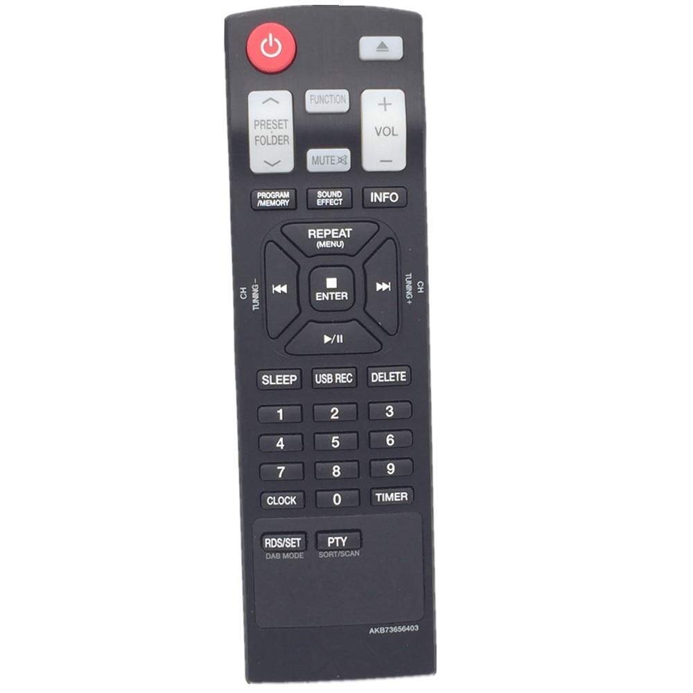 QINYUN AKB73656403 DAB Radio control remoto Mini Hifi CD Del Sistema de AUDIO PA