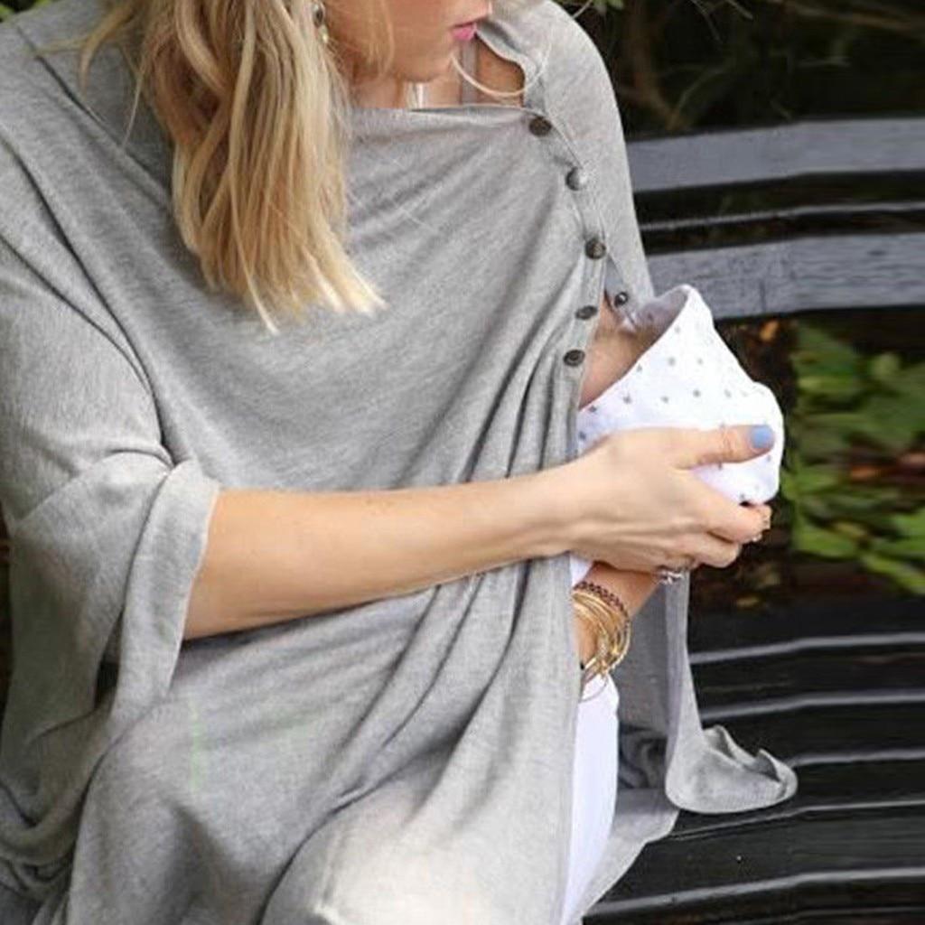 2018 Neue Frühjahr Pflege Top Mutterschaft T Hemd Schwangerschaft T Shirt Top Solid Langarm Stillen Kleidung Für Schwangere Frauen