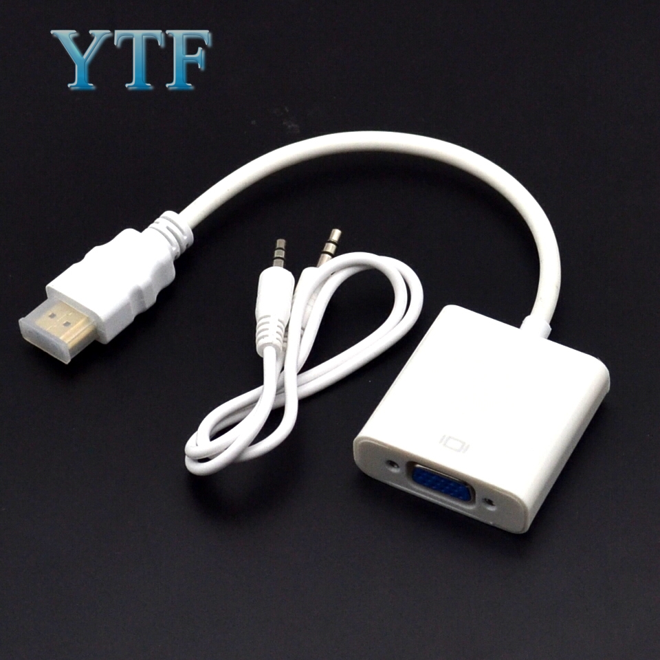 Micro Hdmi Male Turn Vga Mother Adapter Cable Raspberry Pi Display Converter