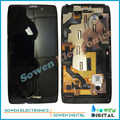 for Motorola DROID RAZR HD XT925 XT926 LCD screen display with touch screen digitizer frame bezel assembly full sets