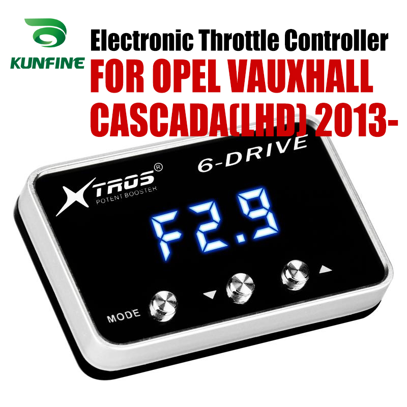 Car Electronic Throttle Controller Racing Accelerator Potent Booster For OPEL VAUXHALL CASCADA(LHD) 2013-2019 Tuning PartsCar Electronic Throttle Controller Racing Accelerator Potent Booster For OPEL VAUXHALL CASCADA(LHD) 2013-2019 Tuning Parts