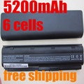 5200mAH  Battery for hp Pavilion g6 dv6 mu06 586006-321 nbp6a174b1 586007-541 586028-341 588178-141 593553-001 593554-001