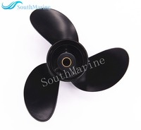 Boat Engine Aluminum Propeller 8.5x9 for Tohatsu / Nissan 2 Stroke 4 Stroke 8HP 9.8HP Outboard Motor 8.5 x 9 , Pitch 12 spine