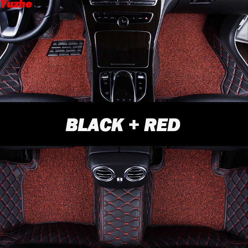 Yuzhe Auto car floor Foot mat For nissan qashqai j10 x-trail t31 t32 murano patrol y61 tiida teana waterproof car accessories
