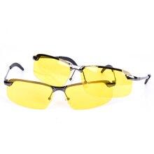 Поляризационные солнцезащитные очки для вождения, большие очки для ночного видения, солнцезащитные очки для дня, ночного видения, очки для вождения
