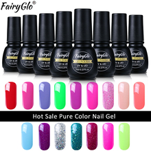 FairyGlo 194 Fashion Colors Nail Gel Polish 8ML Meerdere kleuren UV LED Lamp Gel Lak Soak Off Gelpolish Vernis Semi Permanent
