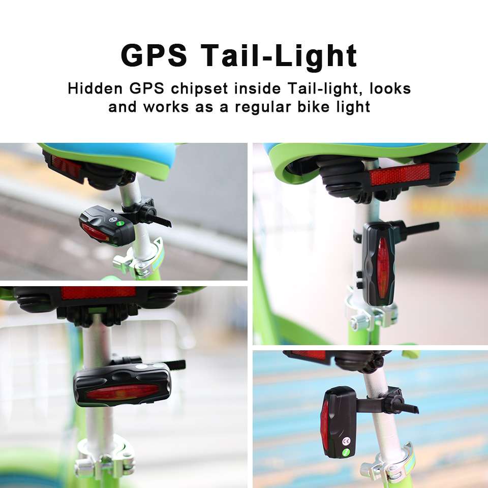 VJOYCAR T191 Tail Lamp Easy Locator Велосипед GPS Tracker - Автомобиль электроникасы - фото 2