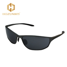 HOZUN 2016 Fashion Aluminum Magnesium Men Sunglasses Brand Designer With Box Driving Fishing Outdoor Eye-wear Glasses LM007 Z20