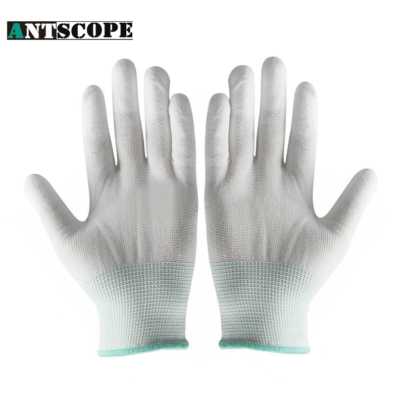 Safety Gloves PU Protective Antistatic Gloves Anti Static ESD Electronic Working Gloves PC Antiskid for Finger