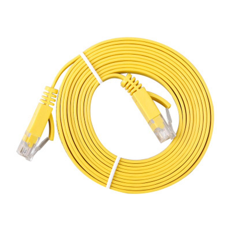 Six types of cat6 Gigabit flat high speed network cable pure copper oxygen free copper computer