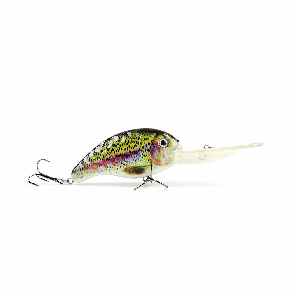 13cm/32.4g Vivid Big Crankbait Top Quality Fishing Lure Attractive Body texture Fish Wobbler Deep Water Fishing Bait Pesca HML01