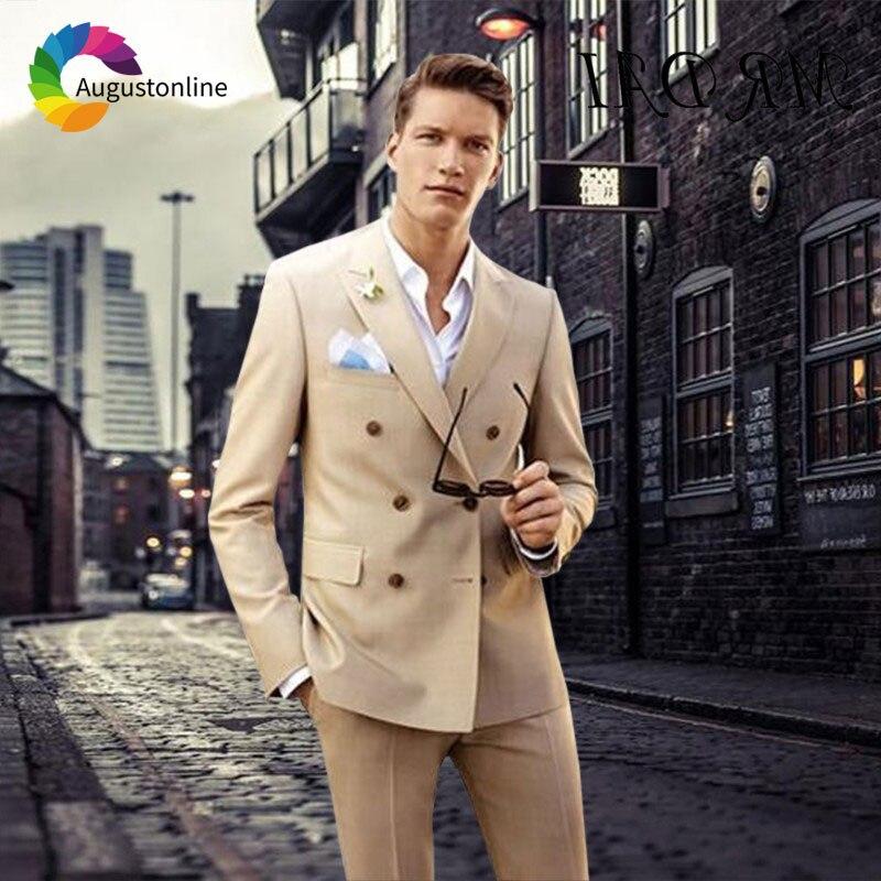 1 Men Suits Wedding Suits Costumes Mariage Homme Men\`s Wedding Suits Terno Masculino Costume Homme Mariage Men Suit with Pants Best Man Blazer Masculino Men\`s Suits Slim Fit Custom Made men suits (40)