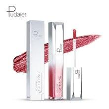 Brand Pudaier 18 colors Lip gloss Tint Cosmetic Lipstick Lipgloss Pigment Sexy kit Matte Liquid Nude Makeup