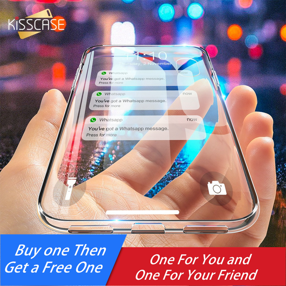 Self-Conscious Kisscase Case For Samsung Galaxy J5 2016 2017 Thin Clear Soft Tpu Phone Case For Samsung Galaxy S10 S10e S7 S8 S9 Plus Note 9 8 Utmost In Convenience Phone Bags & Cases Half-wrapped Case