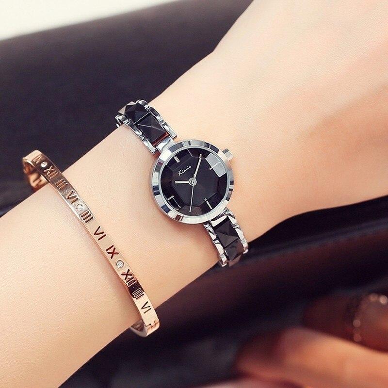 KIMIO Fashion Rose Gold Armband Horloge Dames Quartz Dameshorloges - Dameshorloges - Foto 2