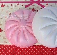 Kawaii 15CM Squishy Jumbo Buns Ballchains Super Slow Rising Bread Scented White Bread