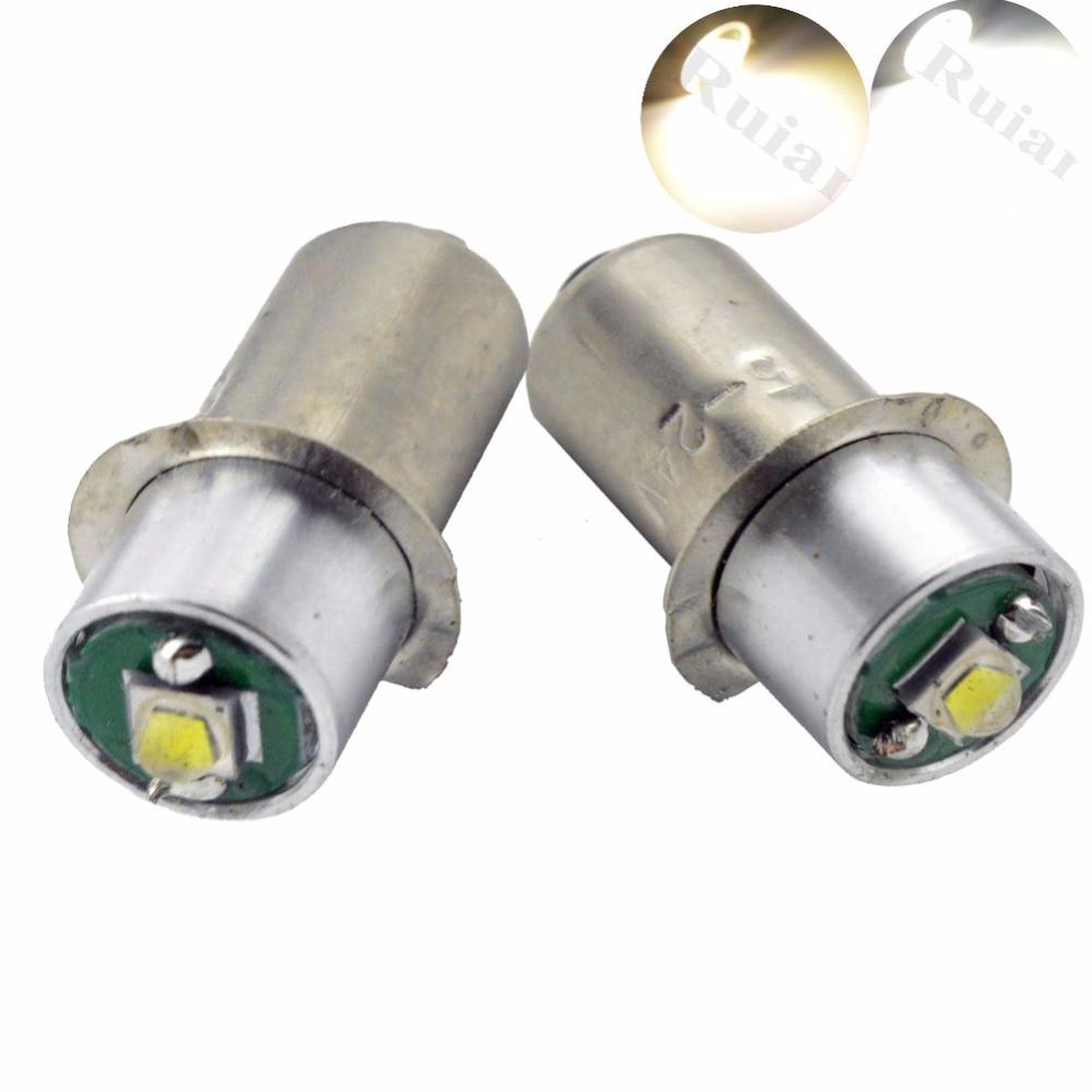 10 buc P13.5S PR2 3W CRE'E XPG LED pentru focalizare lanternă Înlocuire becuri Lampa de lucru Lampa de lumină Pură albă caldă DC3V-18V 5-24V
