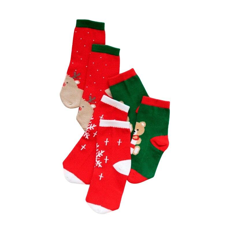 LAWADKA Christmas Gift Soft Cotton Newborn Baby Girl Socks Cute Cartoon Pattern Kids Socks Boys For Baby Girls Socks 0-5 years 1