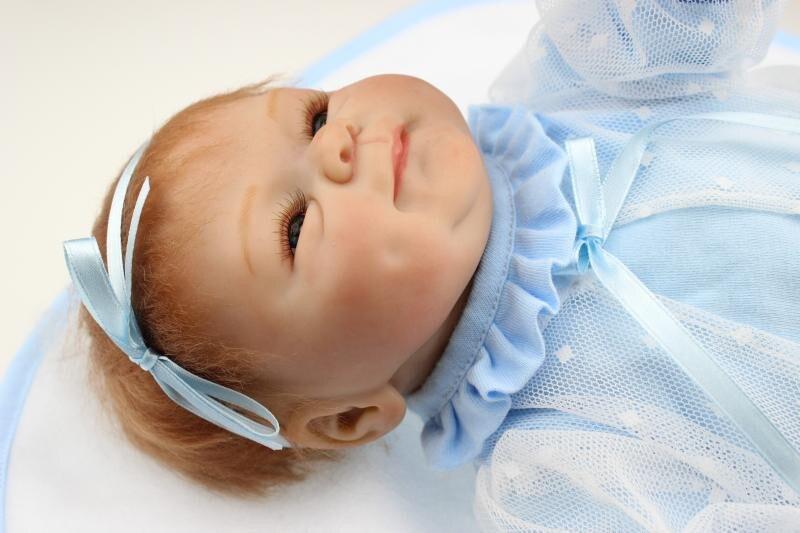 """40 Cm Levensechte Siliconen Reborn Babypop Speelgoed Met Magneet Fopspeen 16 """"pasgeboren Meisje Pop Brinquedos Kid Kind Verjaardag Geschenken"""