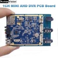 Digital 1CH AHD DVR PCB Board 720P Real time 1CH mini dvr module support 128GB sd Card Security Digital Video Recorder X box