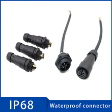цена на Cable Waterproof Connector M19 IP68 20A 2/3/5 Pin Aviation Plug Socket Sealed Retardant Electrical Connectors for Led Light