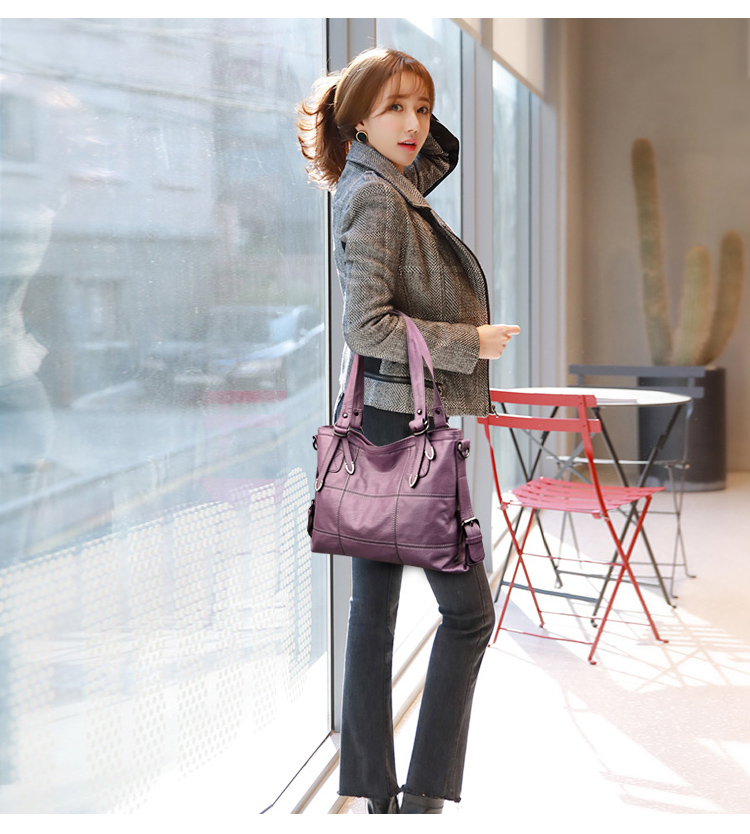 VMOHUO Messenger Bag Women's Ladies Hand Bag Women Leather Handbag Casual Tote Bag Bolsas Femininas Female Shoulder Bag (10)