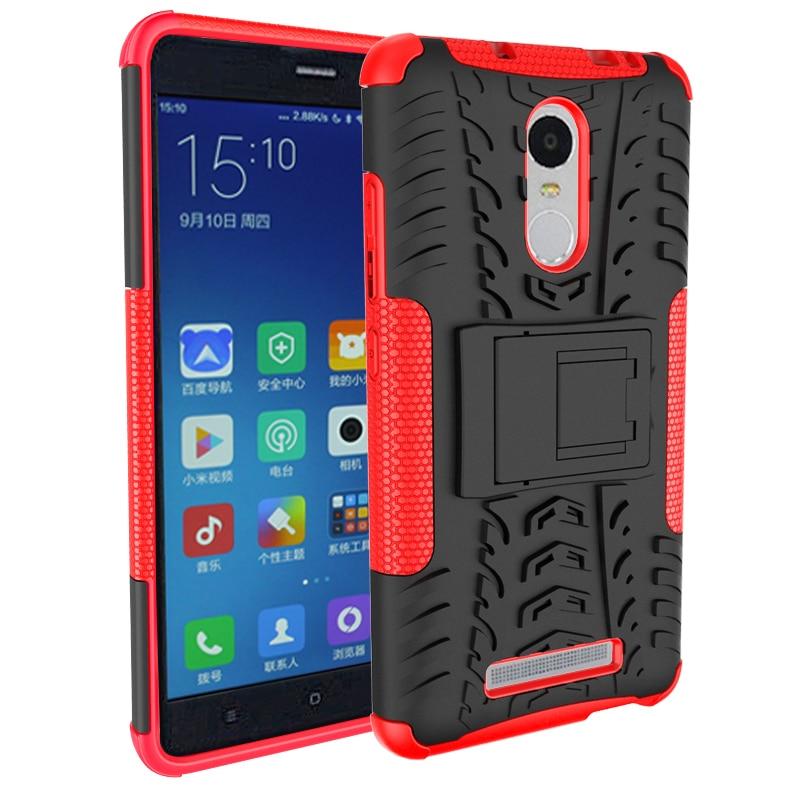 För Xiaomi Redmi Note3 Väskor Robust gummi Heavy Duty Armor Stand - Reservdelar och tillbehör för mobiltelefoner - Foto 5