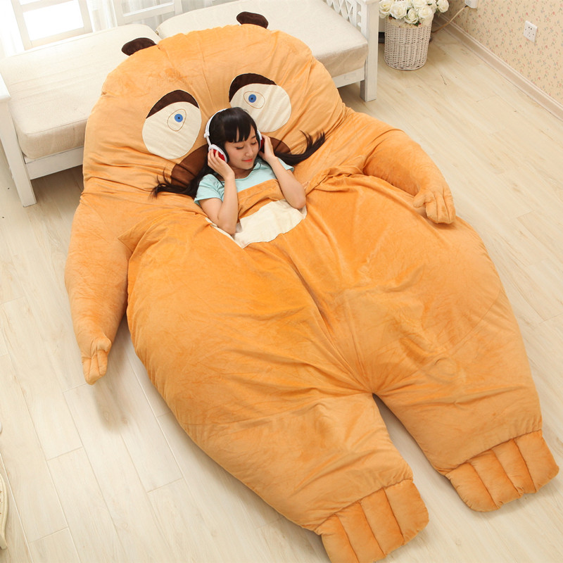 Luxury China Anime Cartoon Bears Two Large Big Sofa Cushion Pillows ...