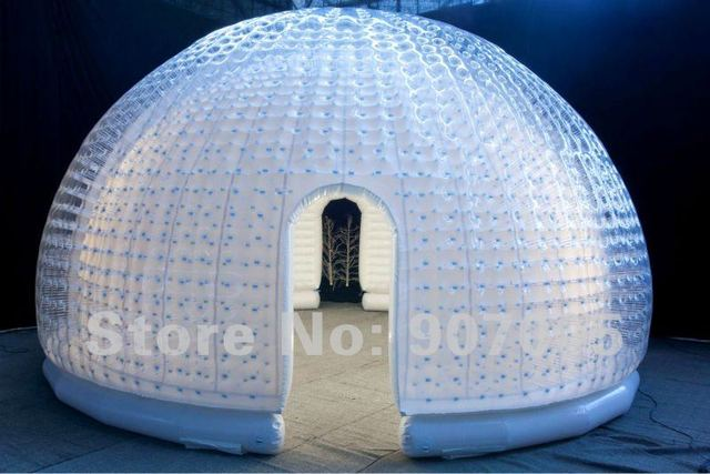 TT06 BENAO Inflatable sealed igloo/Dome Exhibition tent/inflatable car storage tent Free Pump & TT06 BENAO Inflatable sealed igloo/Dome Exhibition tent/inflatable ...