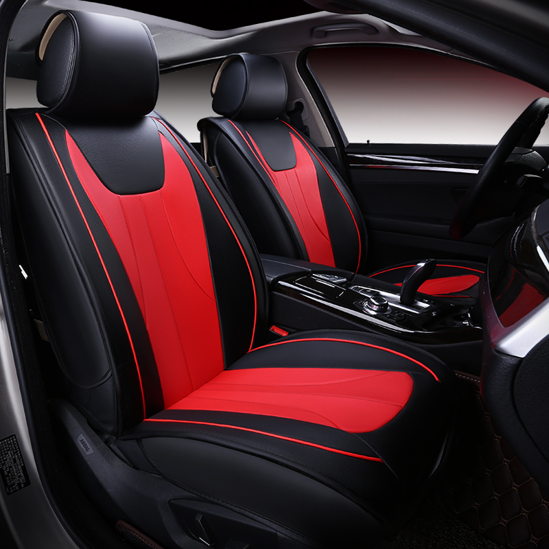 car seat cover auto seats covers accessories leather for nissan sunny altima sentra versa navara d40 2013 2012 2011 2010