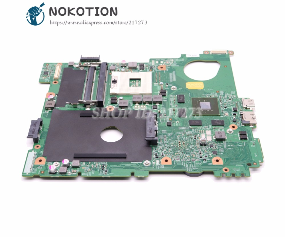 NOKOTION Laptop Motherboard For Dell inspiron N5110 MAIN BOARD CN-0J2WW8 0J2WW8 J2WW8 HM67 DDR3 GT525M 1GB nokotion cn 0j2ww8 laptop motherboard for board inspiron n5110 nvidia gt525m 1gb graphics hm67 ddr3 core i7 mainboard