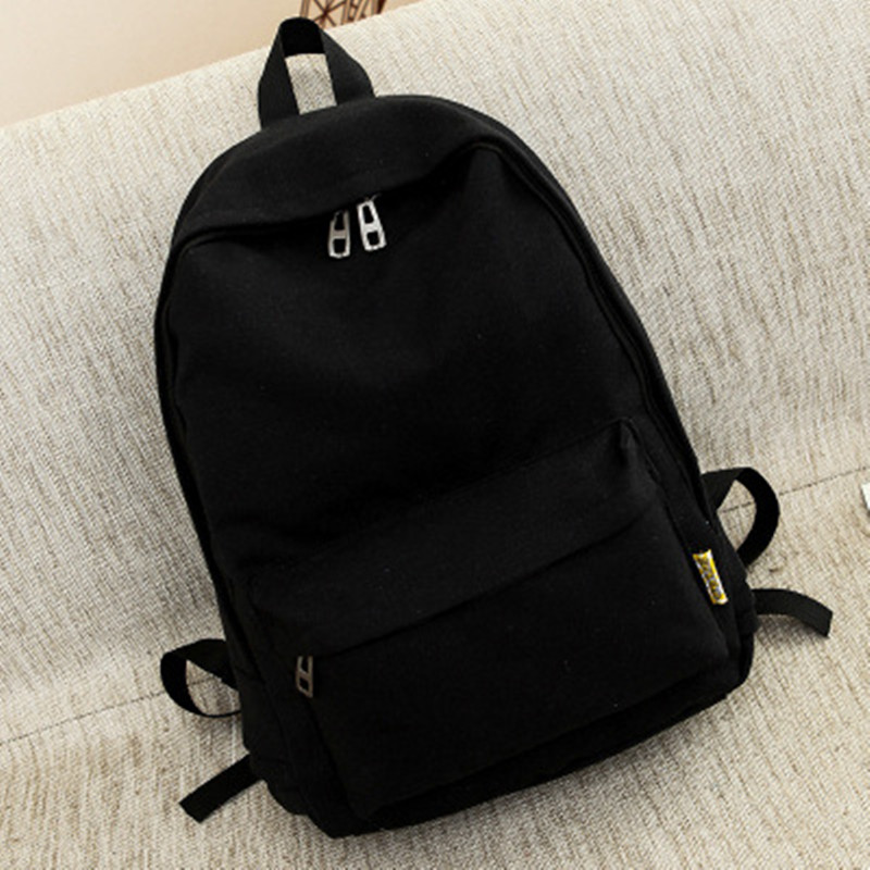 2017 Solid School Bags For Teenager Girls&Boys Ipad Protection Lady Leisure Backpack Woman BackBag Cartable Sac a Dos Adolescent