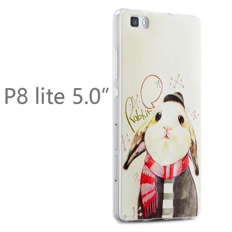Gview Huawei p8 lite telefonväska huawei p8 mini Relief tecknad - Reservdelar och tillbehör för mobiltelefoner - Foto 4