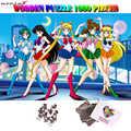 MOMEMO marin lune Puzzle 1000 pièces en bois Puzzle adultes 1000 pièces Puzzle Anime dessin animé Relax cerveau Puzzles jeux jouet