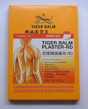 Бесплатная Доставка! Tiger Balm Patch Штукатурка/Tiegao, теплый Лекарственное Обезболивание, Штукатурка-rd, Облегчения Мышечной Боли и Боли
