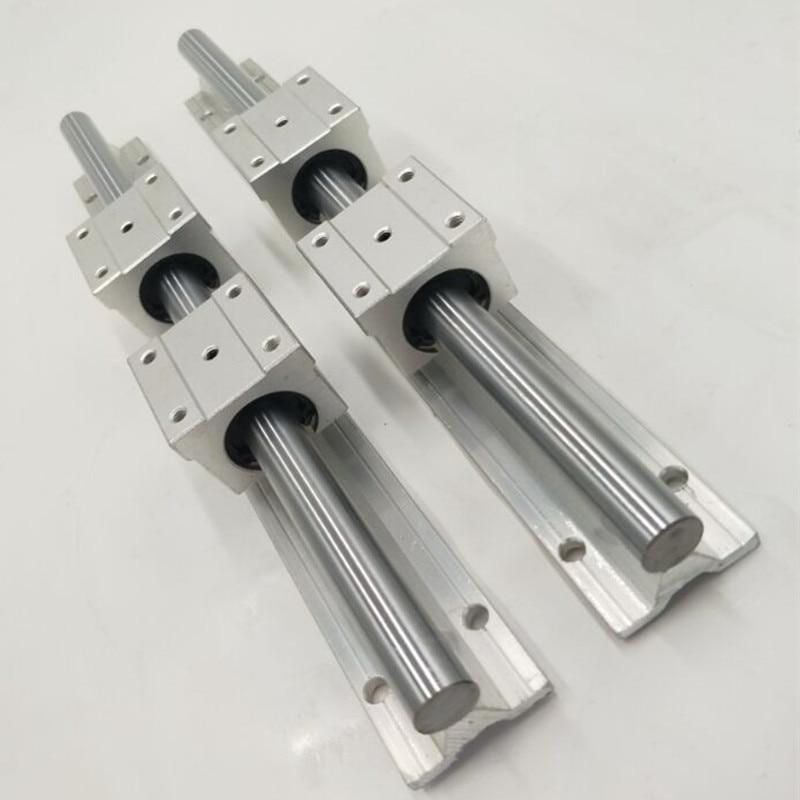 2017 offre spéciale vente CNC partie pour Kossel Mini 2 pièces Sbr16 L 1000mm Rails linéaires + 4 pièces Sbr16uu mouvement roulement blocs