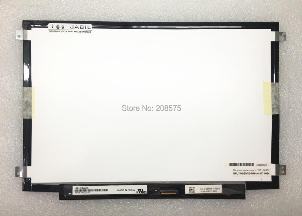 Free shipping LTD121EWUD LTN121AT04 12.1'' inch LCD Display screen for Dell Latitude E4200 VOSTRO 1220 D420 D430 quying laptop lcd screen ltn121at04 ltd121ewud for dell e4200 1220 d420 d430 12 1 inch 1280x800 40pin
