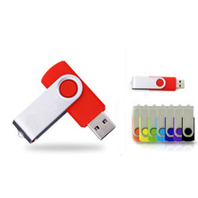 2017 Hot Sale Cheapest Price Normal Rectangle Usb 2.0 Rotation Real Capacity USB Flash Drive 64 GB