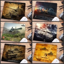 Mairuige Big promotion World Of Tank mouse pad gamer play mats Small SIZE Rubber Game Gaming Mouse Pad 18X22CM mouse pad