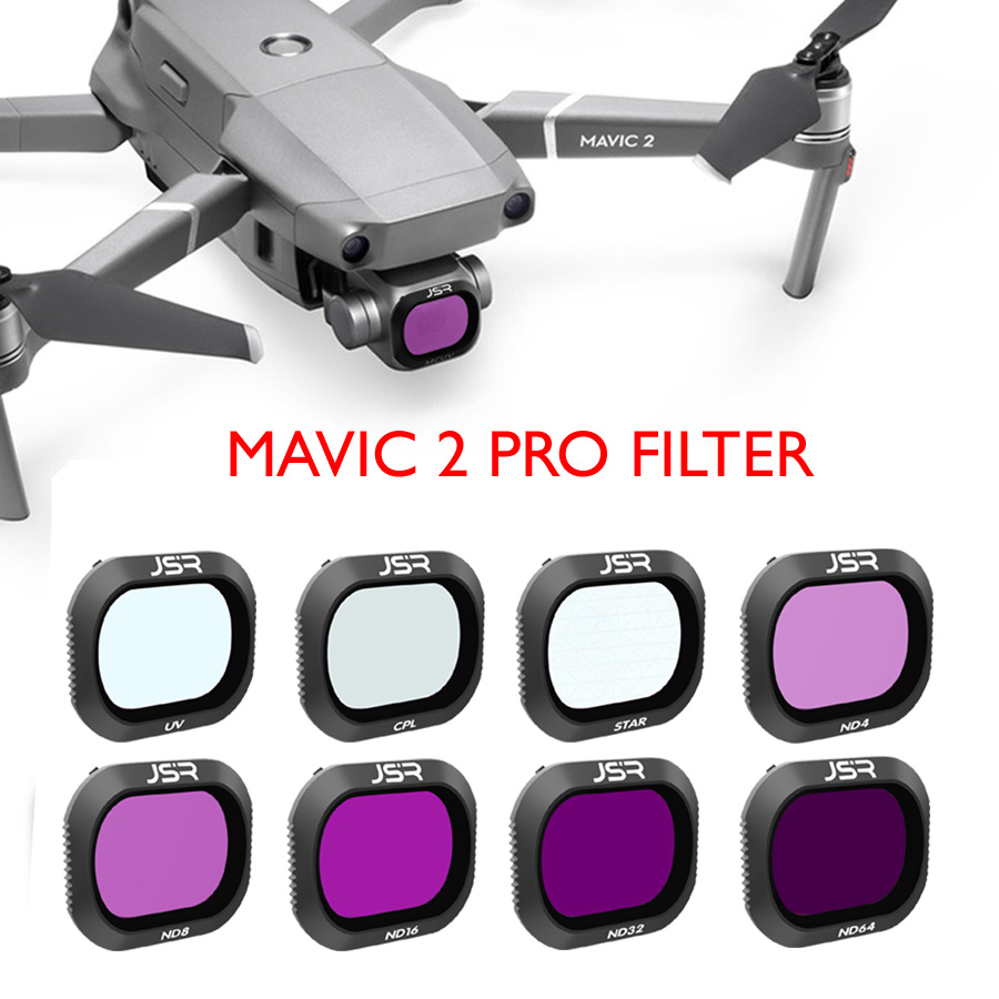 1PCS Lens Filter Protect Cover UV CPL ND4 ND8 ND16 ND32 Star for DJI Mavic 2 Zoom Drone 6in1 as Shown