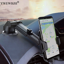 YWEWBJH 360 Degree Universal Car Mobile Phone Mount Holder Auto-lock Adjustable Telephone Bracket Auto Gravity Air SmarPhone