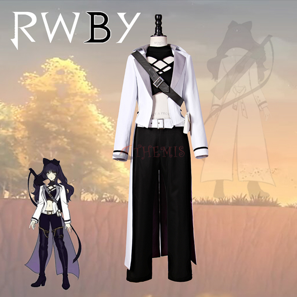 Athemis RWBY BLACK TRAILER BLAKE COSPLAY Cosplay Costumes cosplay costume