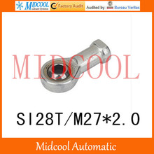 Cylinder joint internal SI28T/M27*2.0 thread 28mm fisheye joint rod end joint bearing small connecting rod