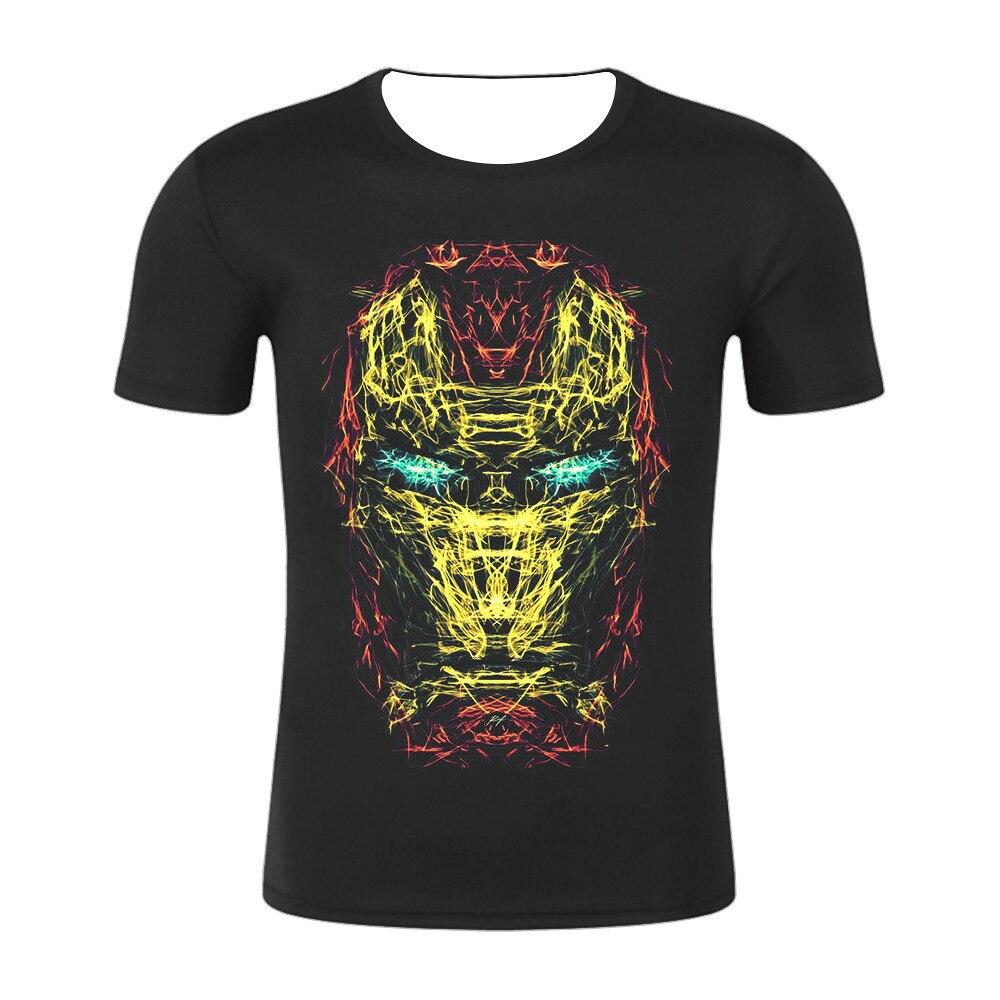 Avengers T Shirt Ironman Captain America Iron men Hawkeye Black Widow T-shirt Super hero Custom Made 3D Print Tee Shirt