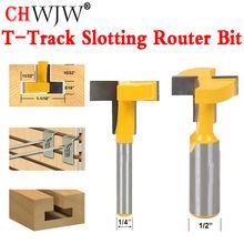 1pcs Top Quality T-Slot & T-Track Slotting Router Bit - 1/4