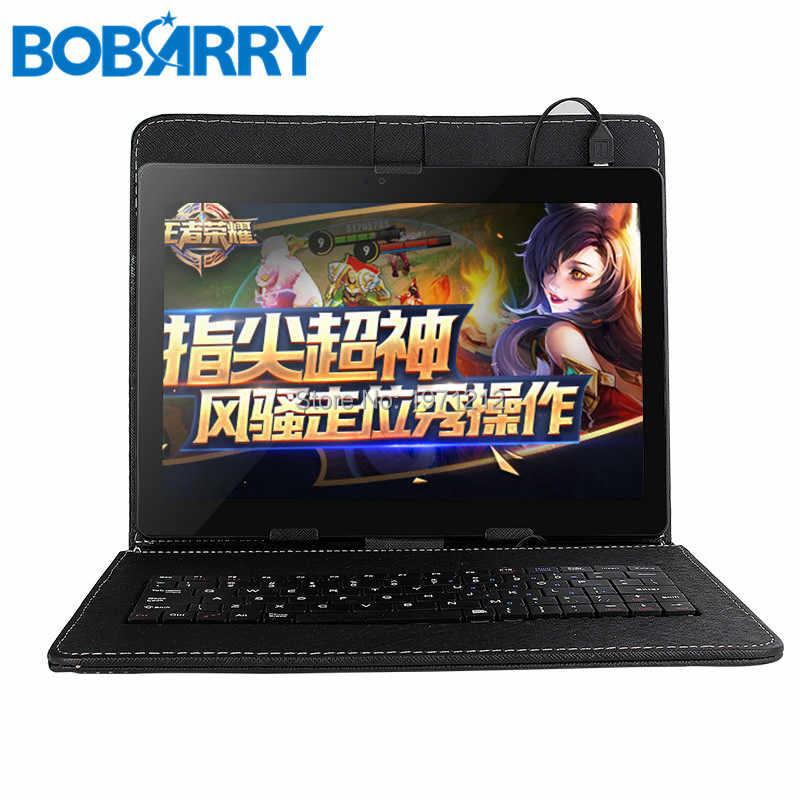 بوباري S106 تابلت 10 بوصة أندرويد 8.0 ثماني النواة 6GB RAM 128GB ROM 8 النوى 1280*800 IPS شاشة تابلت 10.1